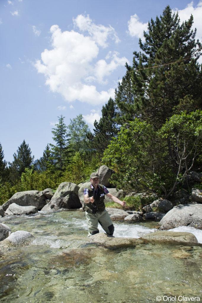 Pesca amb mosca. Vall de Boí (Alta Ribagorça)